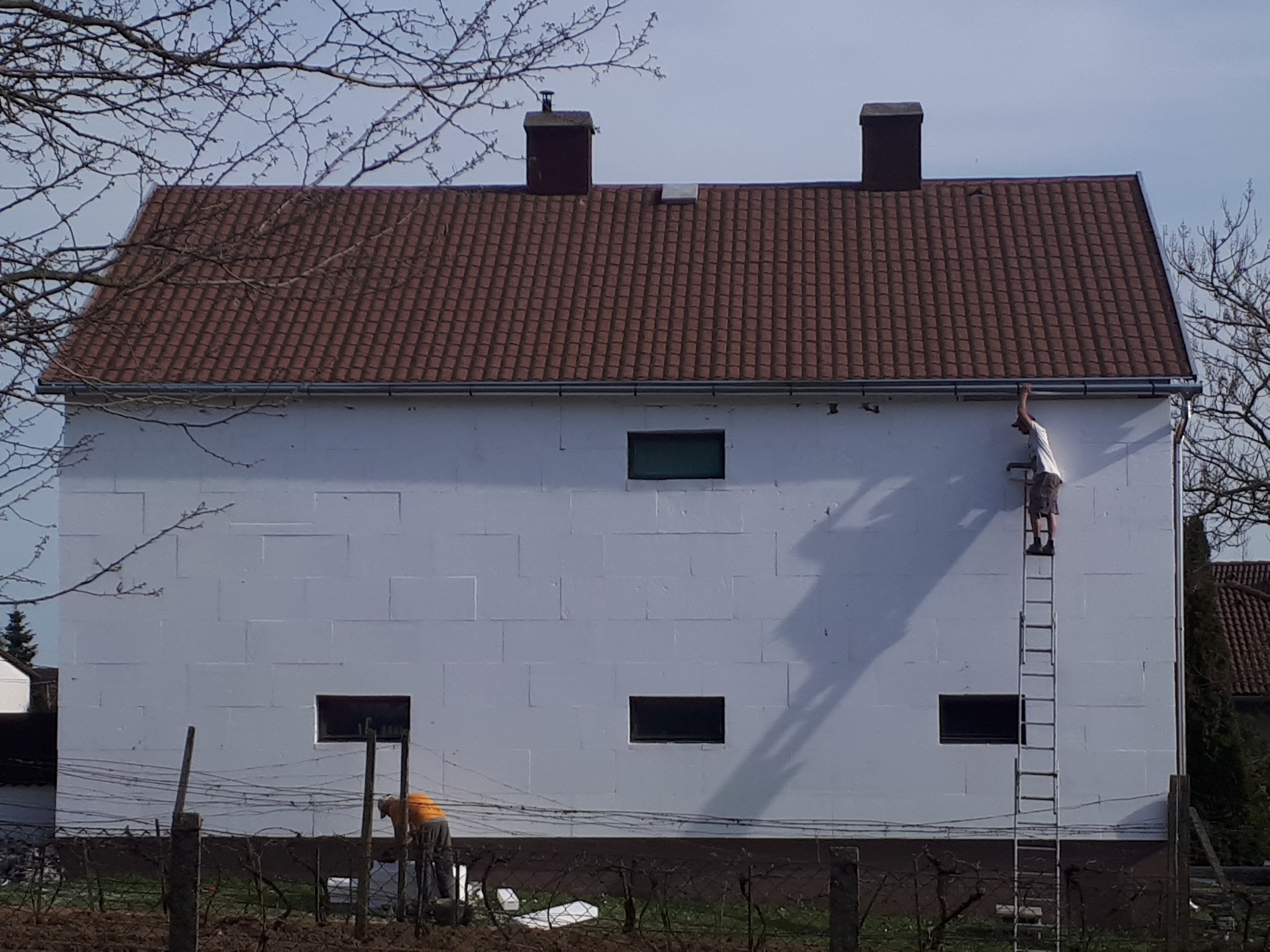 Palatető felújítás , palatető szigetelés Családi ház palatető felújítása