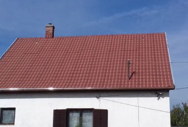 Palatető felújítás Komlóska, palatető szigetelés Komlóska - Eger